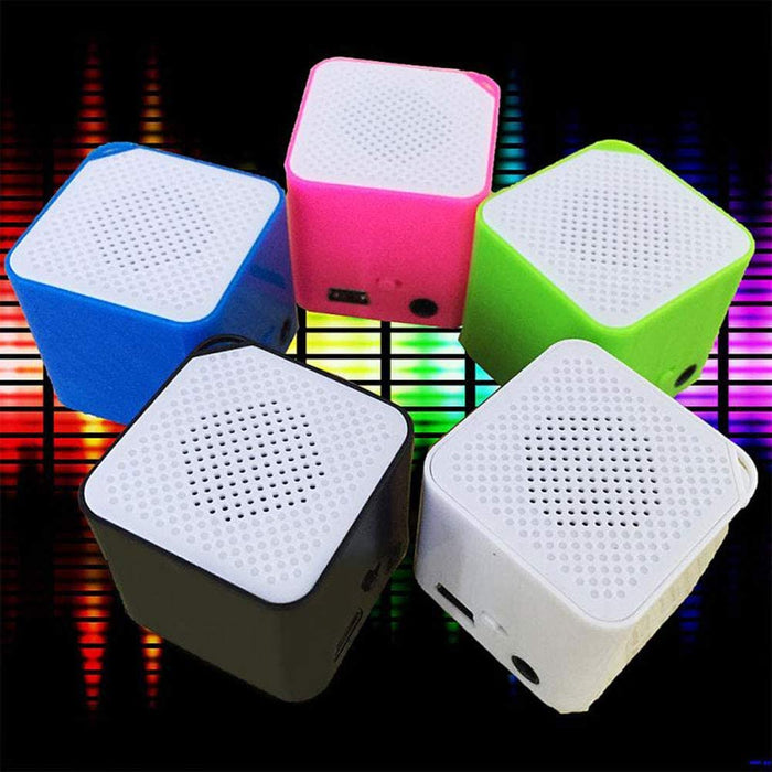 16GB Portable Mini USB 2.0 MP3/WMA Player, Support Micro/TF Card Campaign MP3 Music Player Built-in Speaker Resistance to Shock,White