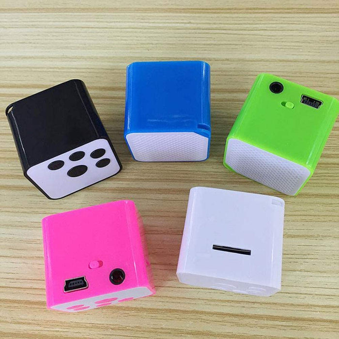 16GB Portable Mini USB 2.0 MP3/WMA Player, Support Micro/TF Card Campaign MP3 Music Player Built-in Speaker Resistance to Shock,Green