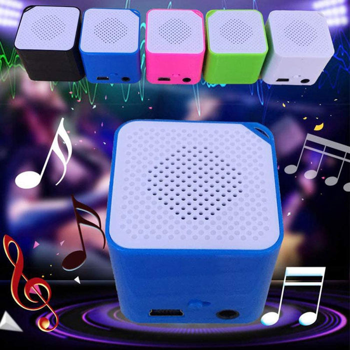 16GB Portable Mini USB 2.0 MP3/WMA Player, Support Micro/TF Card Campaign MP3 Music Player Built-in Speaker Resistance to Shock,Black