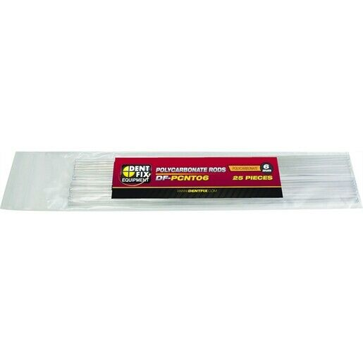 25PK 6mm Poly Plastic Rods   DF PCNT06