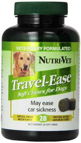 Nutri-Vet Travel-Ease Soft Chews for Dogs, 28-Count