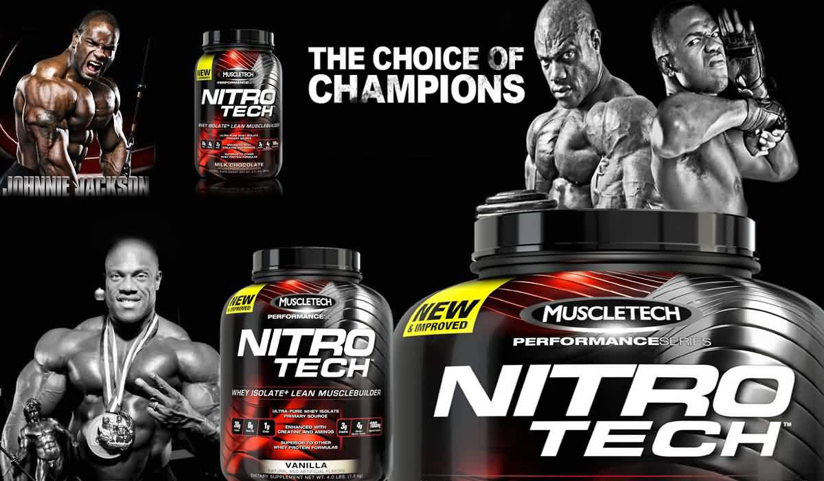 MuscleTech NitroTech Protein Powder