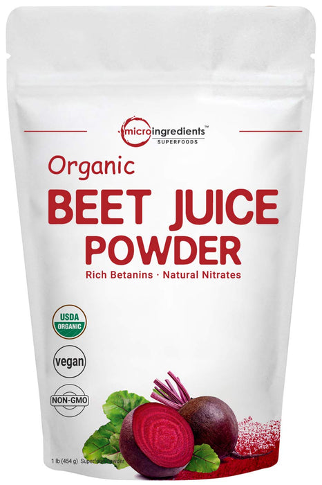 Micro Ingredients Organic Super Beet Juice Powder