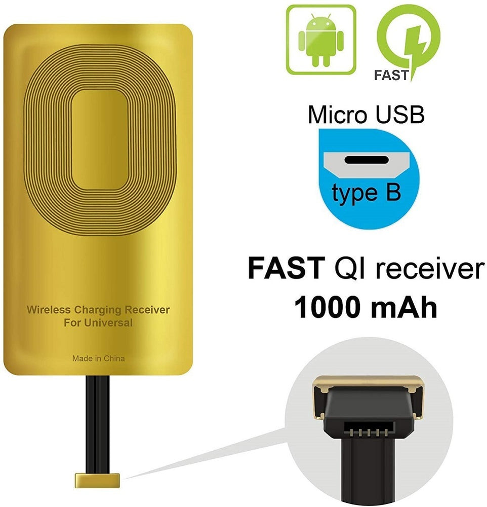 Qi Receiver Mobile Phone Wirless Charging Reciever Accessories for Blu Vivo X