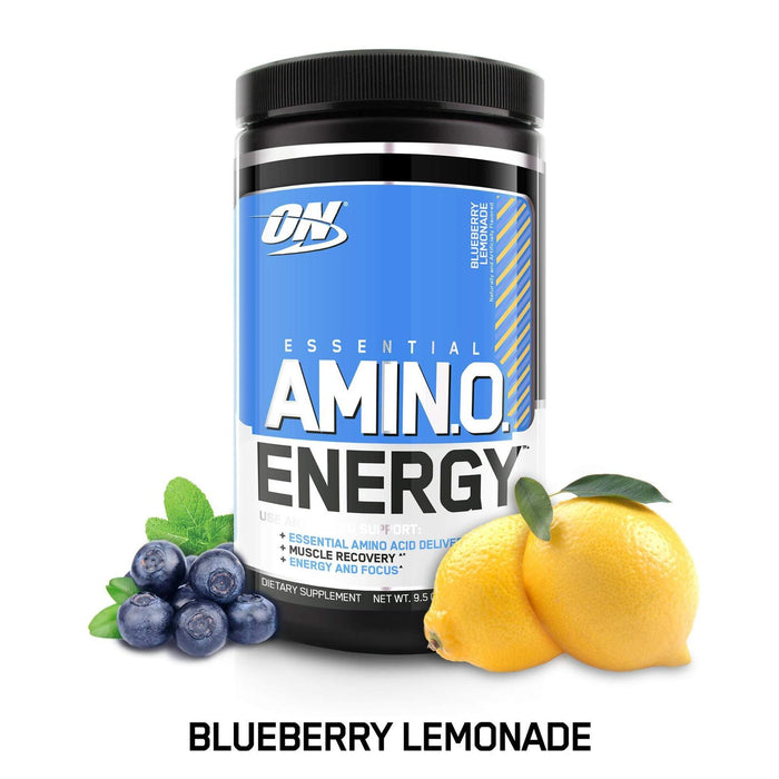 Optimum Nutrition Amino Energy with Green Tea and Green (Blueberry Lemonade)