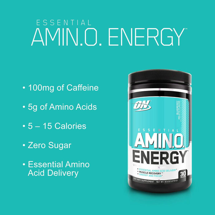 Optimum Nutrition Amino Energy with Green Tea and Green Coffee (Peach Lemonade)