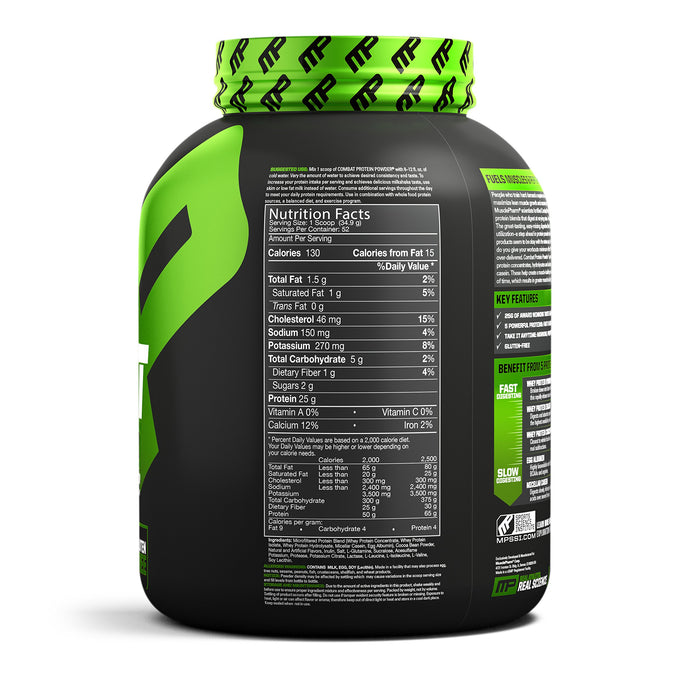 MusclePharm Combat Protein Powder Chocolate Flavor