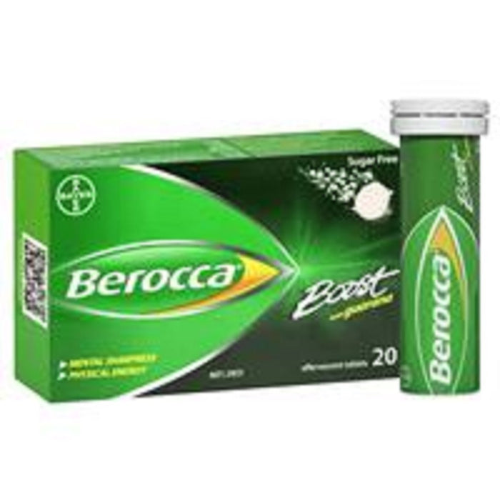 Berocca Boost Energy Vitamin With Guarana Effervescent Tablets 20