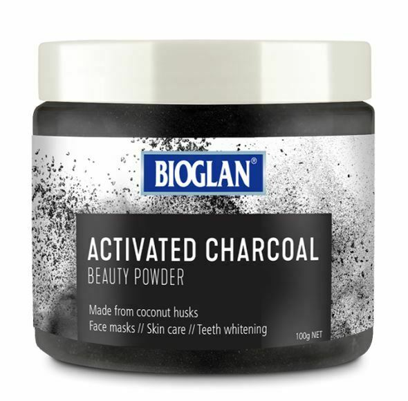 Activated Charcoal Beauty Powder 100g x 3 Pack Bioglan
