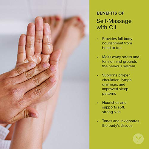 Banyan Botanicals Mahanarayan Oil - 99% Organic, 4 oz - for Muscles and Joints - Supports Comfortable Joint Movement and soothes Pain, Stiffness and Inflammation*