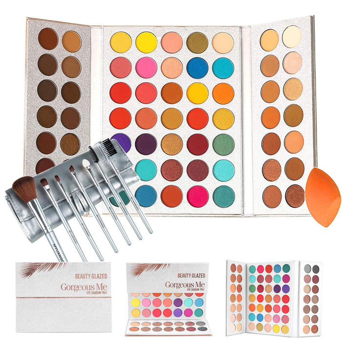 Beauty Glazed Gorgeous Me Eyeshadow Palette Pigmented Professional Makeup Pallet