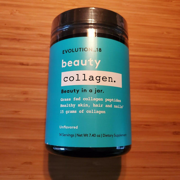 Evolution_18 beauty collagen. Beauty In a jar. Unflavored Dietary Supplement ...
