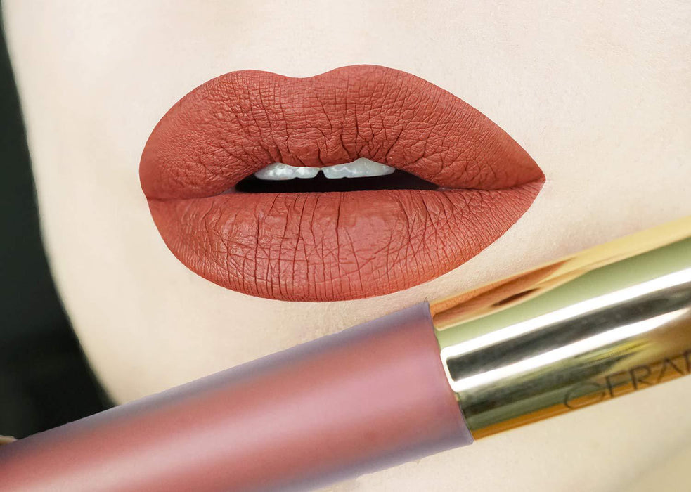 Gerard Cosmetics HydraMatte Liquid Lipstick MILE HIGH - MATTE FINISH STAY ALL DAY, Comfortable long wear CRUELTY FREE and USA MADE