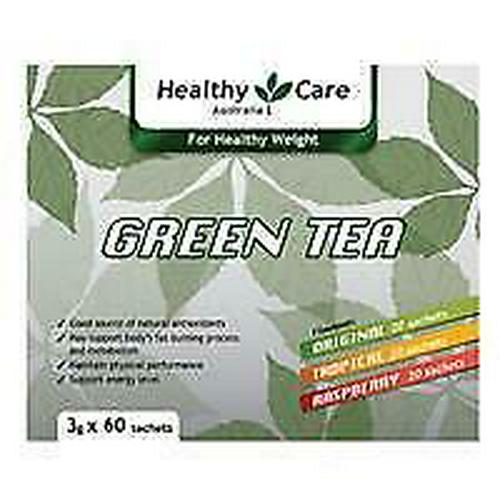 Healthy Care Green Tea Energy Drink Assorted 3g X 60, will ship internationally