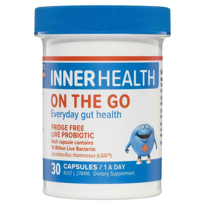 Inner Health On The Go 30 Capsules Support Healthy Immune System Vegan Friendly