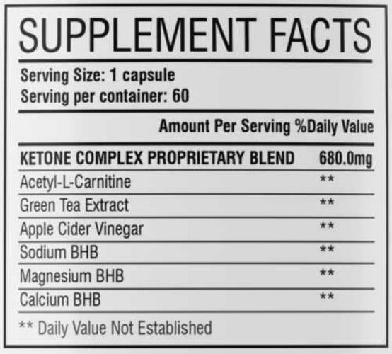 Keto BHB Diet Pills,Weight Loss+Fat Burner, Appetite Suppressant Supplement, ACV