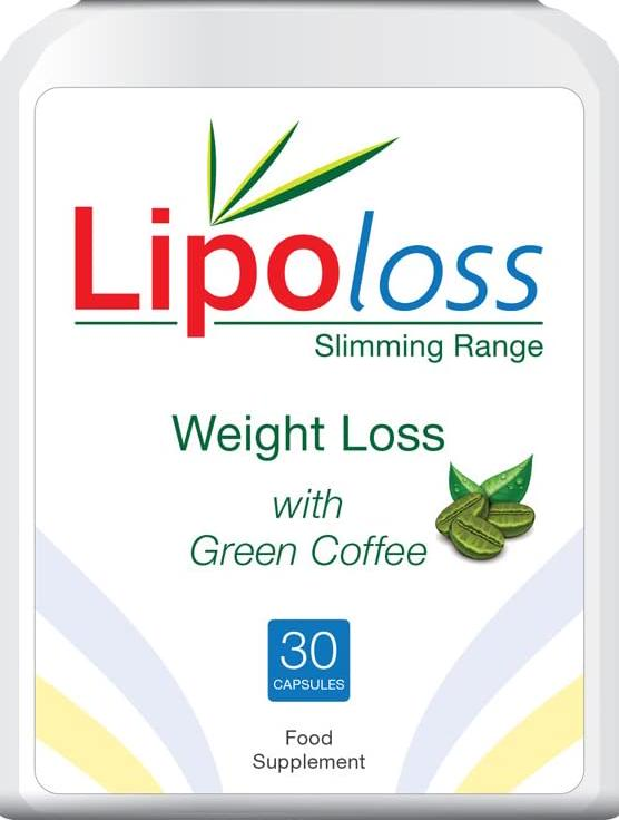 LIPOLOSS WEIGHTLOSS Pure Green Coffee Pills Diet Tablets GET Slim FIT Figure Fast