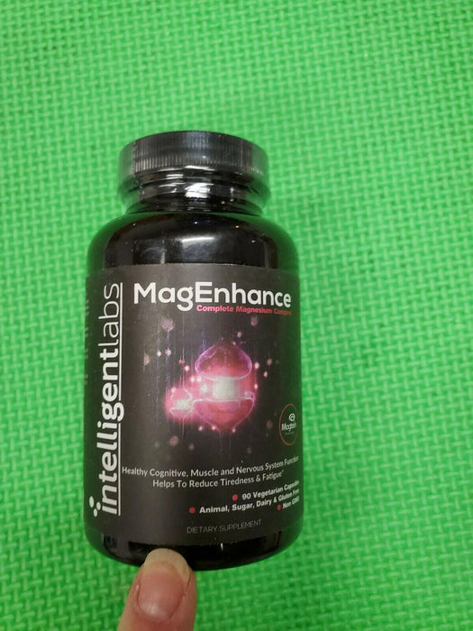 MagEnhance Best Magnesium Supplement 90 vcaps exp-6/2022