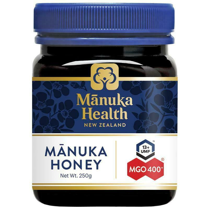 Manuka Health MGO 400+ New Zealand Manuka Honey 250g (Not For Sale In WA)
