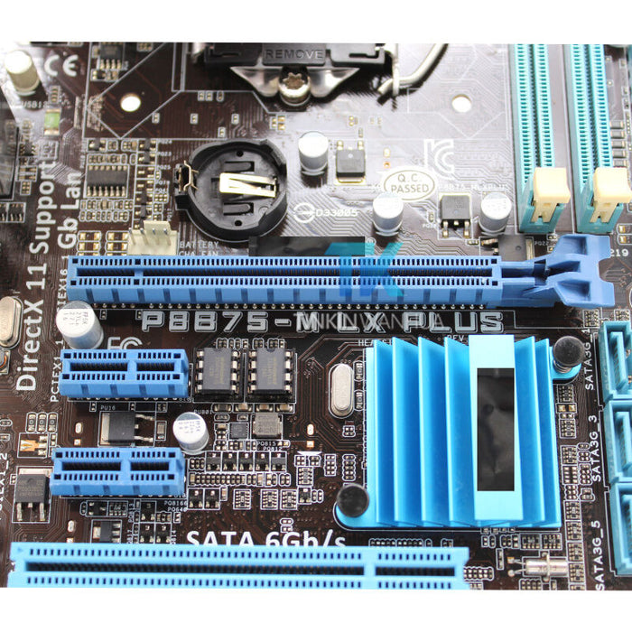 Motherboard for ASUS P8B75-M LX PLUS Intel B75 LGA1155 DDR3 PCIE 3.0 Tested