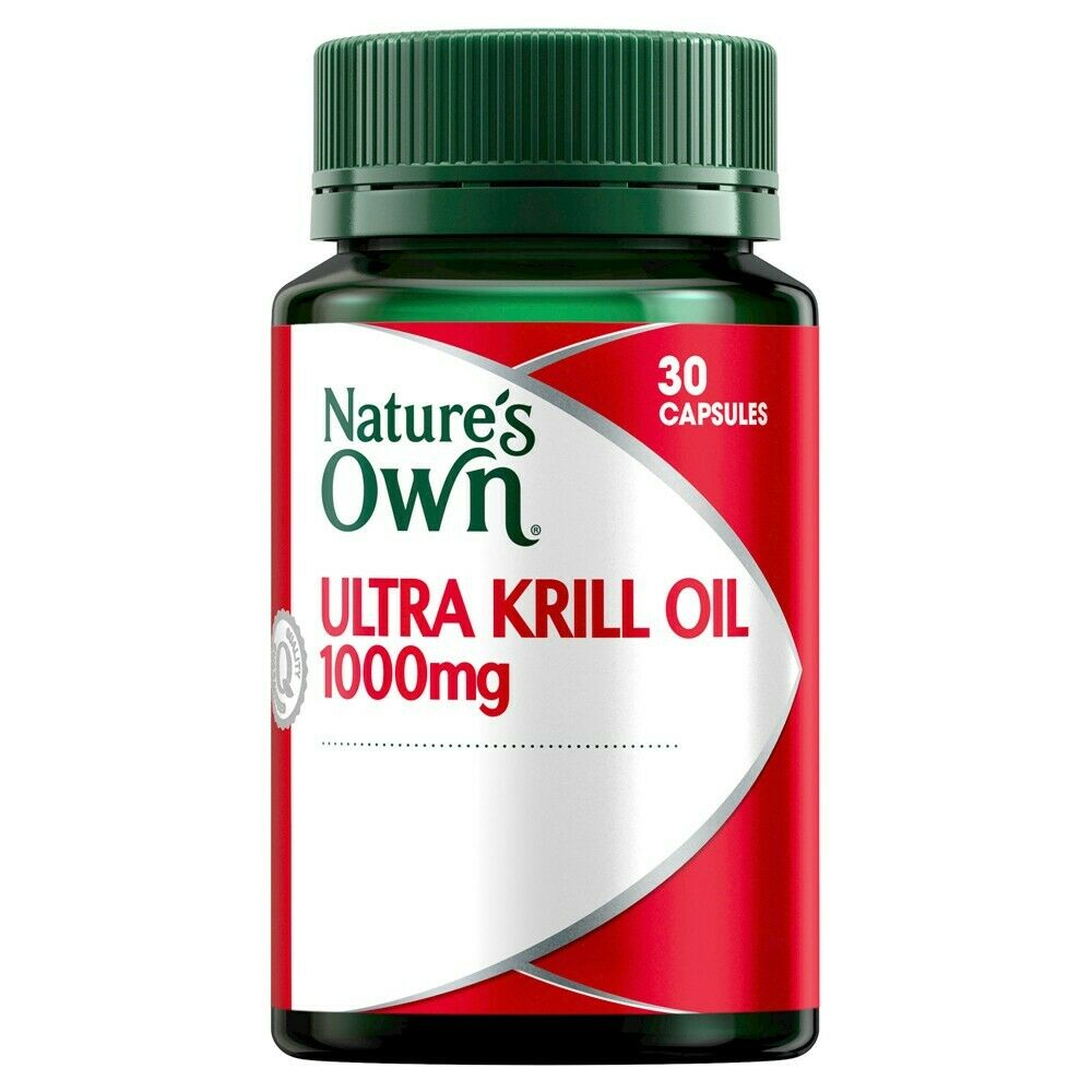N/OWN ULTRA KRILL OIL 1000MG 30 CAPS 1-A-DAY FOR MILD OSTEOARTHRITIS HealthCo