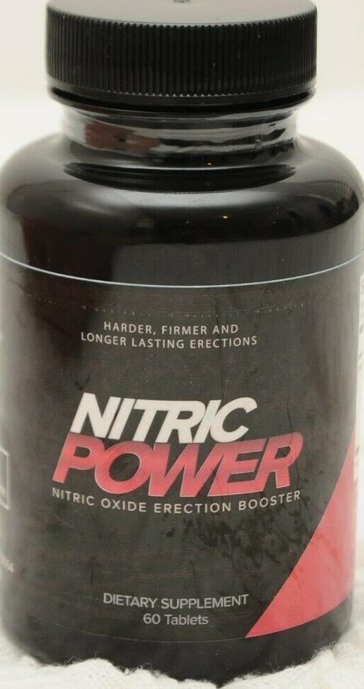 Nitric Power Dietary Supplements 60 Tablets