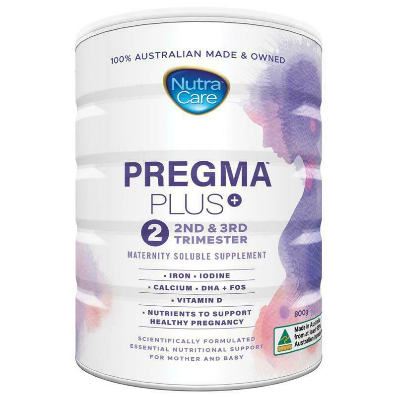 NutraCare Pregma Plus Pregnancy Formula Stage 2 800g Supplement For Pregnancy
