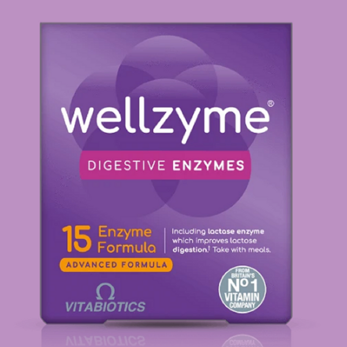 Wellzyme Digestive Enzymes Advanced