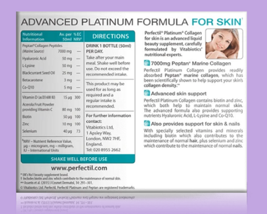 Perfectil Platinum Collagen Skin Drink