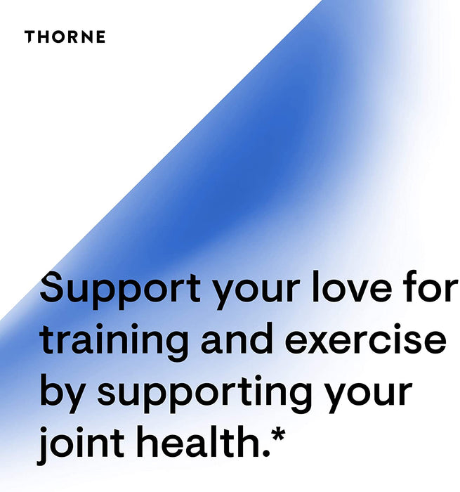 Thorne Research - Glucosamine and Chondroitin - Support to Maintain Healthy Joint Function and Mobility - 90 Capsules