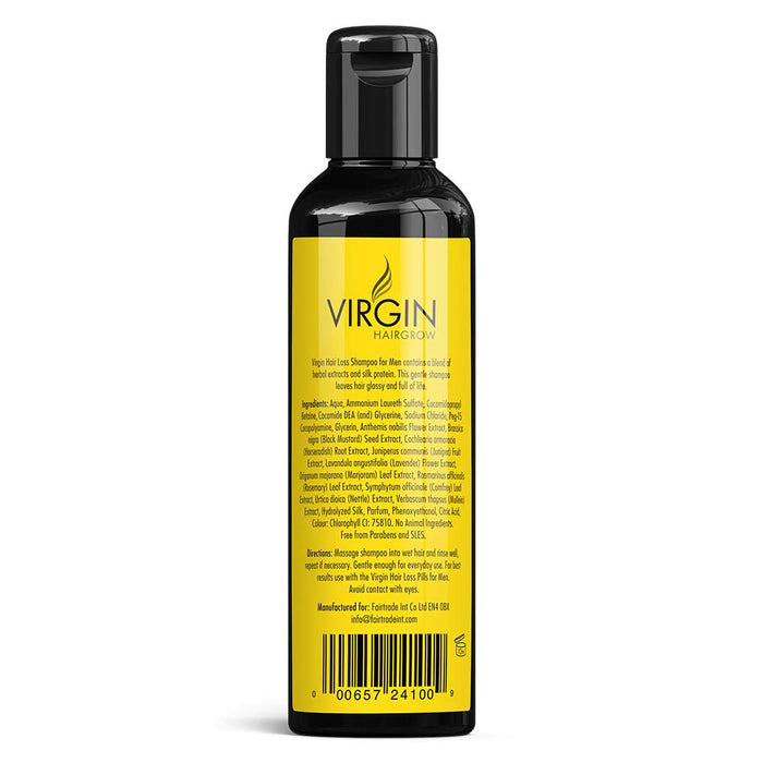 Virgin Hair Regain Shampoo - Grow Thick Healthy Hair in 30 Days!! by Fairtrade Int Co Ltd
