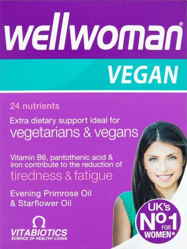 Wellwoman Vitabiotics Vegan Tablets