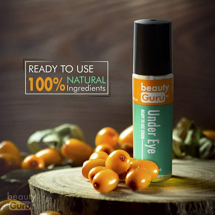 Beauty Guru Vitamin C Under Eye Serum Anti Aging Eye Roller W Sea Buckthorn Oil
