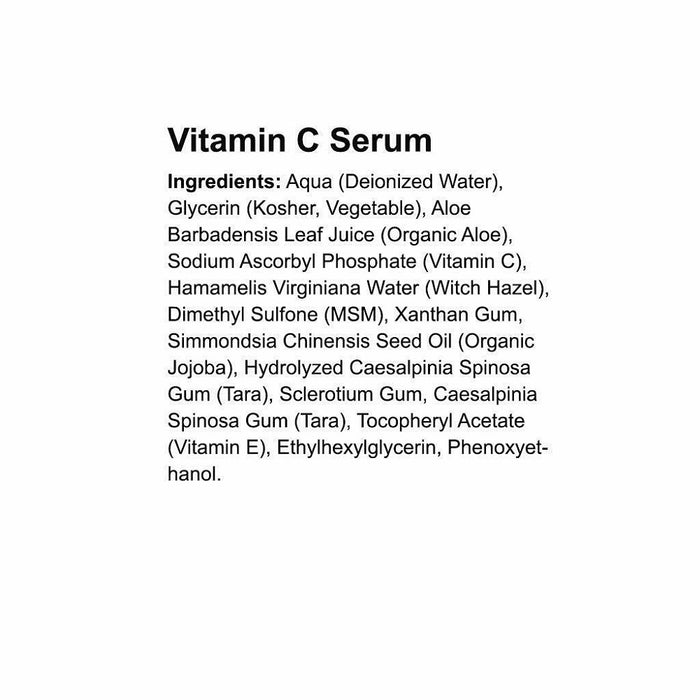 Vitamin C Serum for Face Anti Aging Facial Serum 1oz For the skin, beauty, Oil