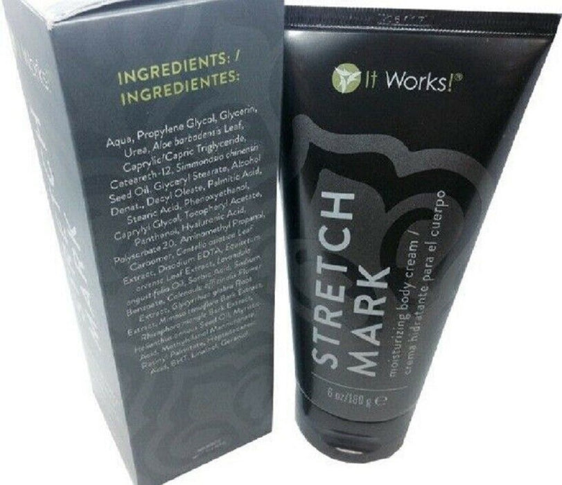 It Works Stretch Mark Moisturizing Body Cream, 6oz