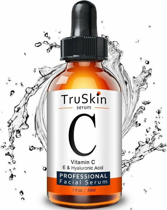 TruSkin Vitamin C Topical Facial Serum with Vitamin E and Hyaluronic Acid (1 oz)