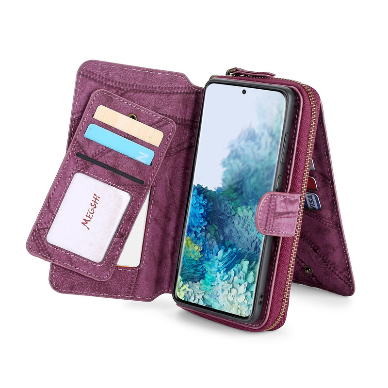 Simple design Wallet Case For iPhone