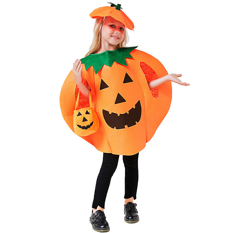 🎃Halloween parent-child pumpkin suit