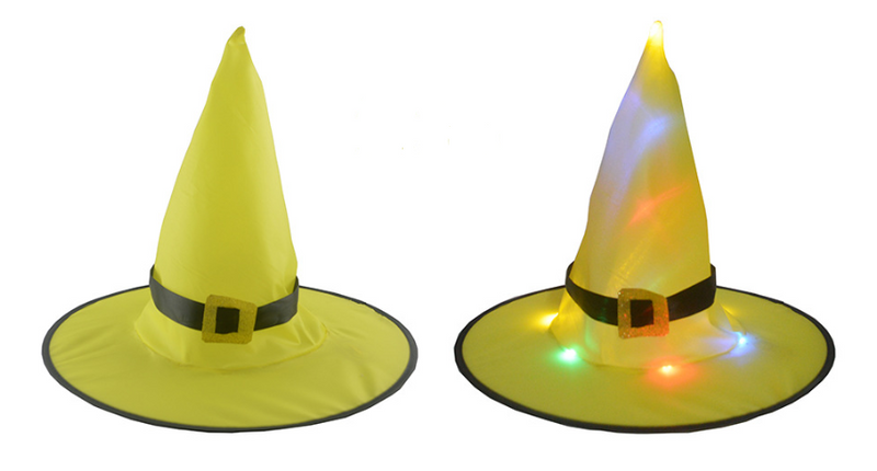 HALLOWEEN Decorations Glowing Witch Hat