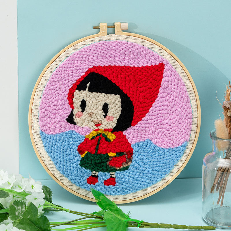 Russian Embroidery Diy Material Package Handmade Woolen Embroidery Hanging Pictures