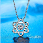 Dancing Heart 925 Sterling Silver Necklace(BUY 1 & GET 1 FREE TODAY)
