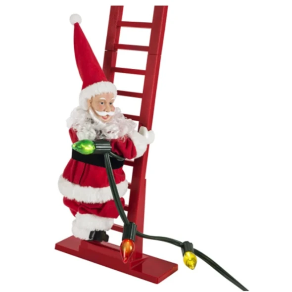 Early Christmas Sale!! Electric Climbing Santa- Limited Edition