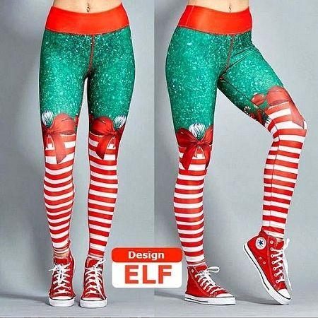 Christmas Leggings Holiday Workout Yoga Pants