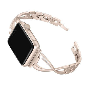 Gold Stainless Steel Cuff Watch Bands - Epic Watch Bands