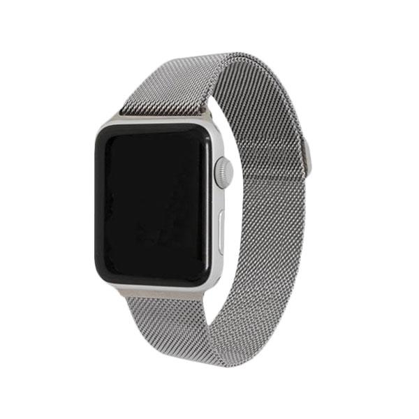 Silver Stainless Steel Mesh Watch Bands - Epic Watch Bands