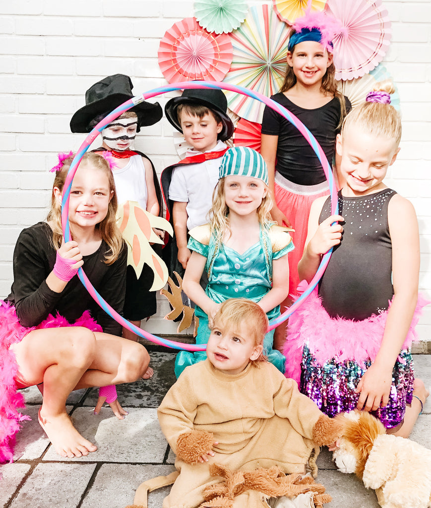 circus party glam ideas birthday kids