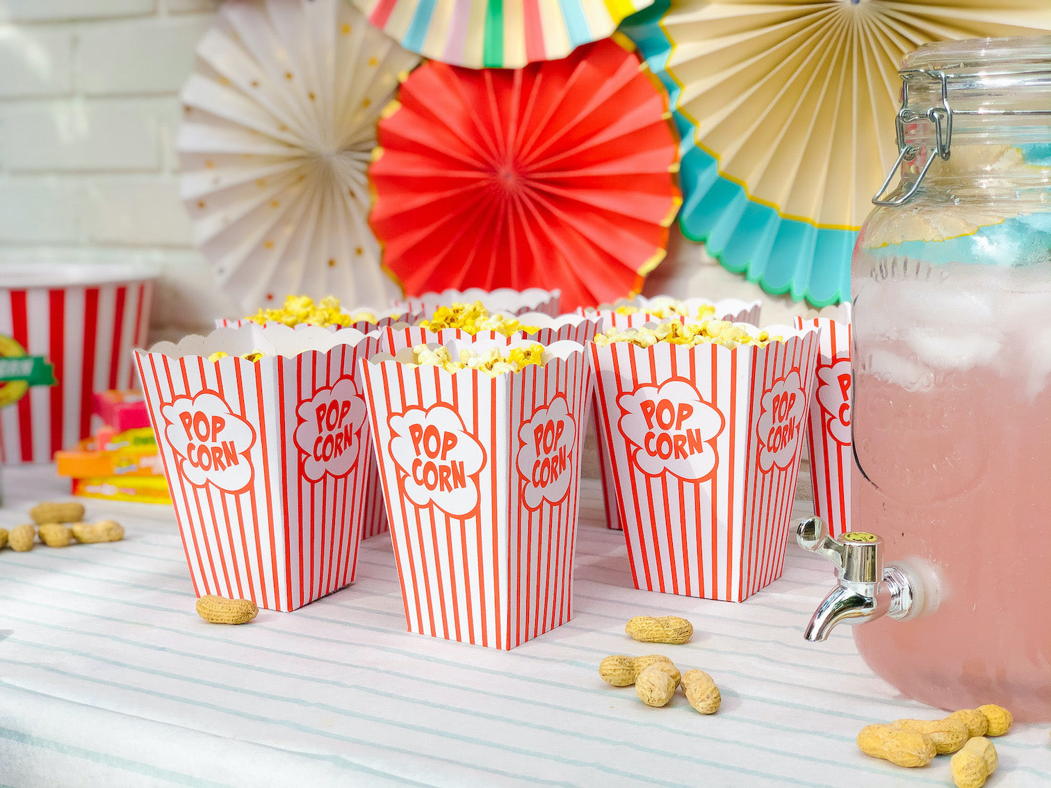 circus birthday party ideas - food ideas