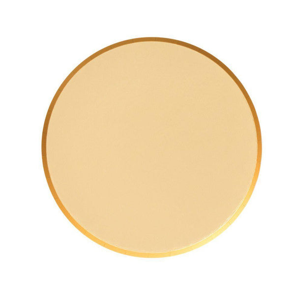 small gold plates by oh happy day!