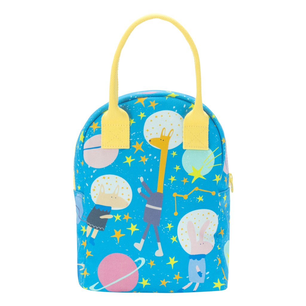 astro party space lunch bag