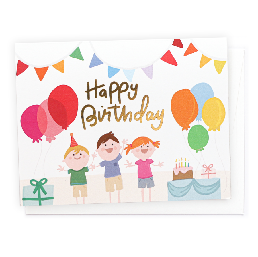 penny paper co happy birthday card